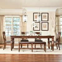Kingston Extension Dining Table and chairs
