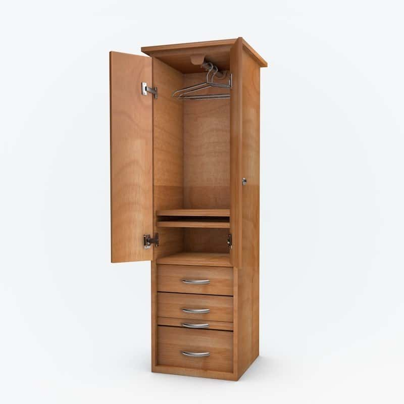 Denva Cabinet Bed And Piers-Free Shipping