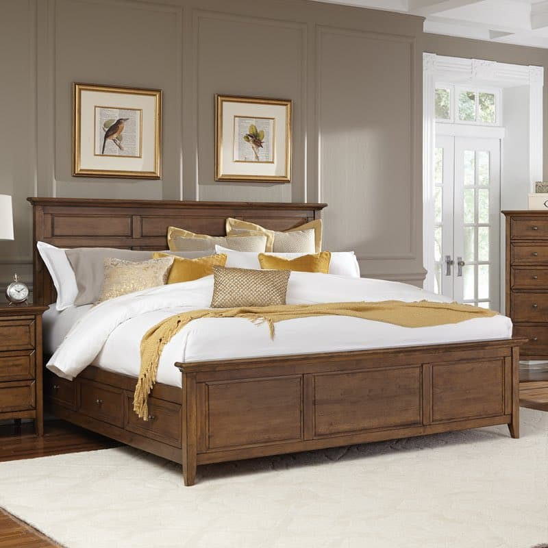 hudson bedroom set hudson bay king storage bedroom set free shipping 11817