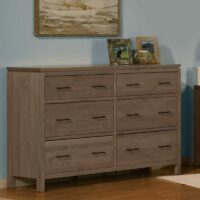 2 West Dresser in Driftwood finish