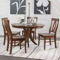 Siena Dining Table Verona Chairs Espresso finish