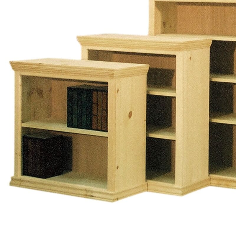 Shaker Full Wrap Wood Bookcases