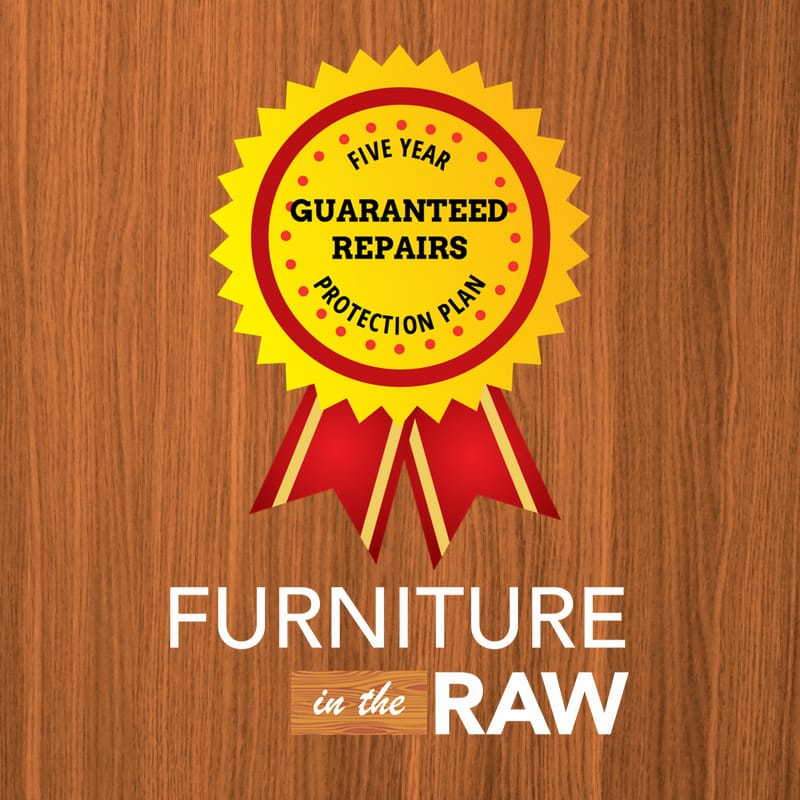 Five year customer protection plan bronze for Furniture in the raw