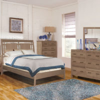 2 West Modern Bed by Archbold