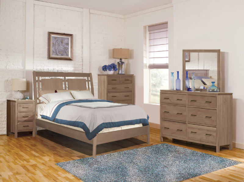 The Archbold Modern Sleigh Bed Is Contemporary Design