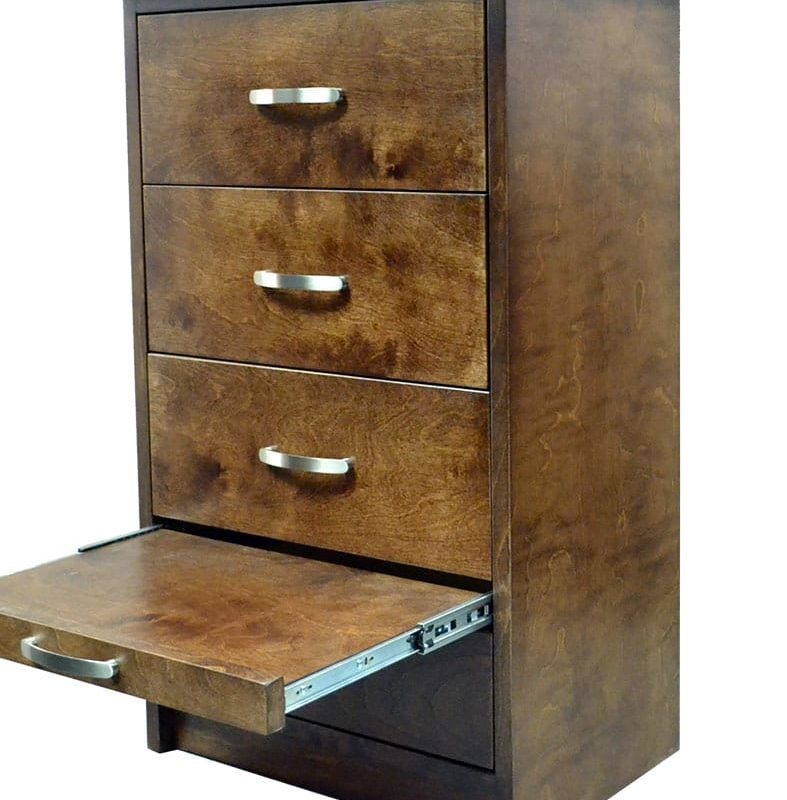 SHORT PIER WITH DRAWERS AND NIGHT STAND TRAY