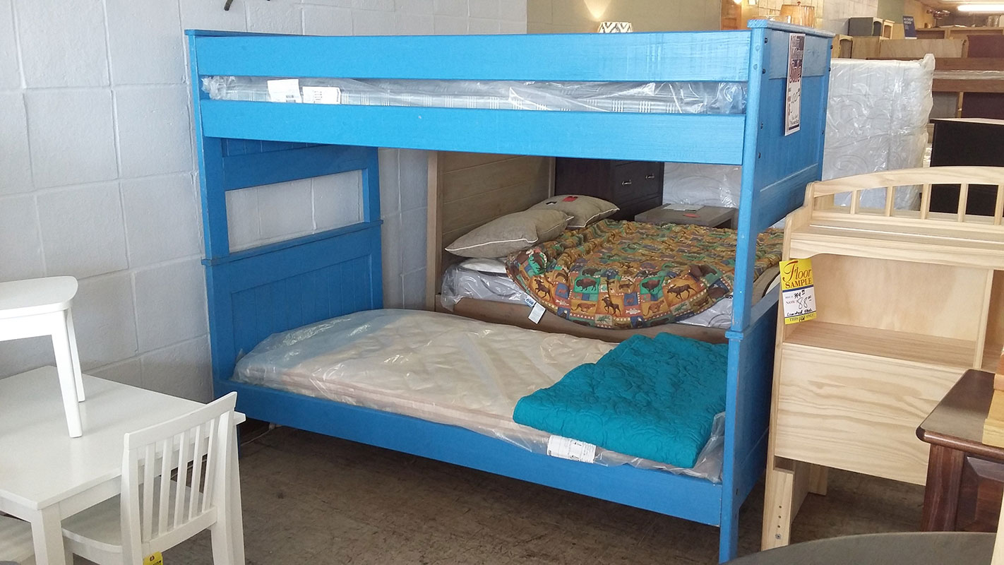 Pine Crafter Blue Bunkbed
