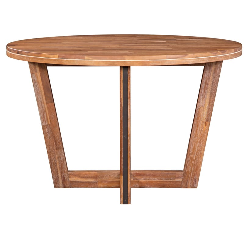Alpine Modern Rustic Round Dining Table Ships Free
