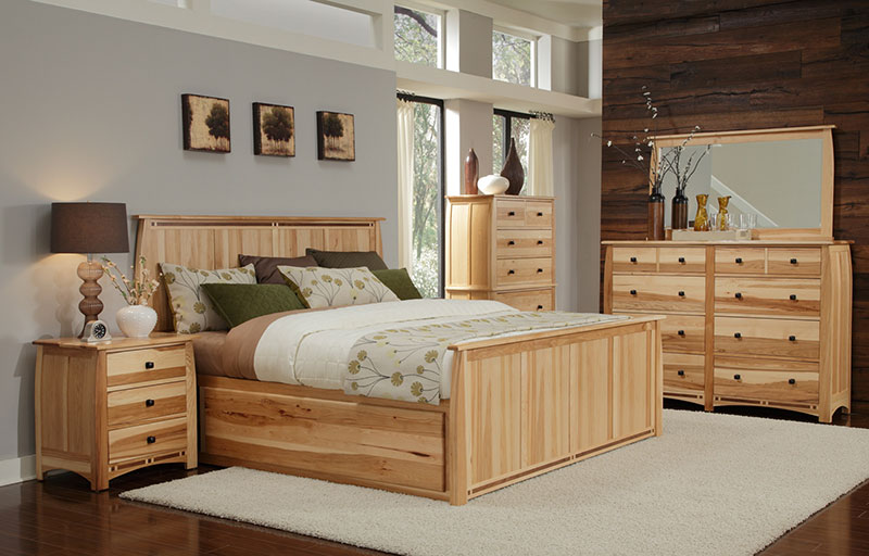 A-America Adamstown Bedroom Set with Storage Bed - Free Shipping