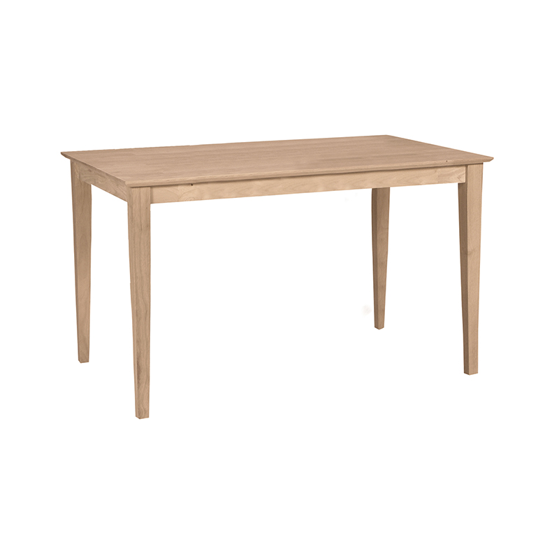 T-6036 Shaker Whitewood Table