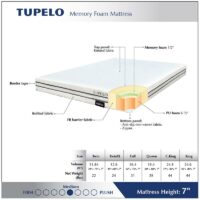 Tupelo Memory Foam Mattress