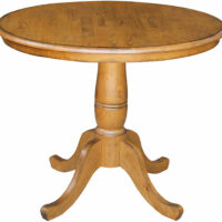 "Pecan Dining Essentials John Thomas 36"" Round Table t59-36rtPecan Dining Essentials John Thomas 36"" Round Table t59-36rt"