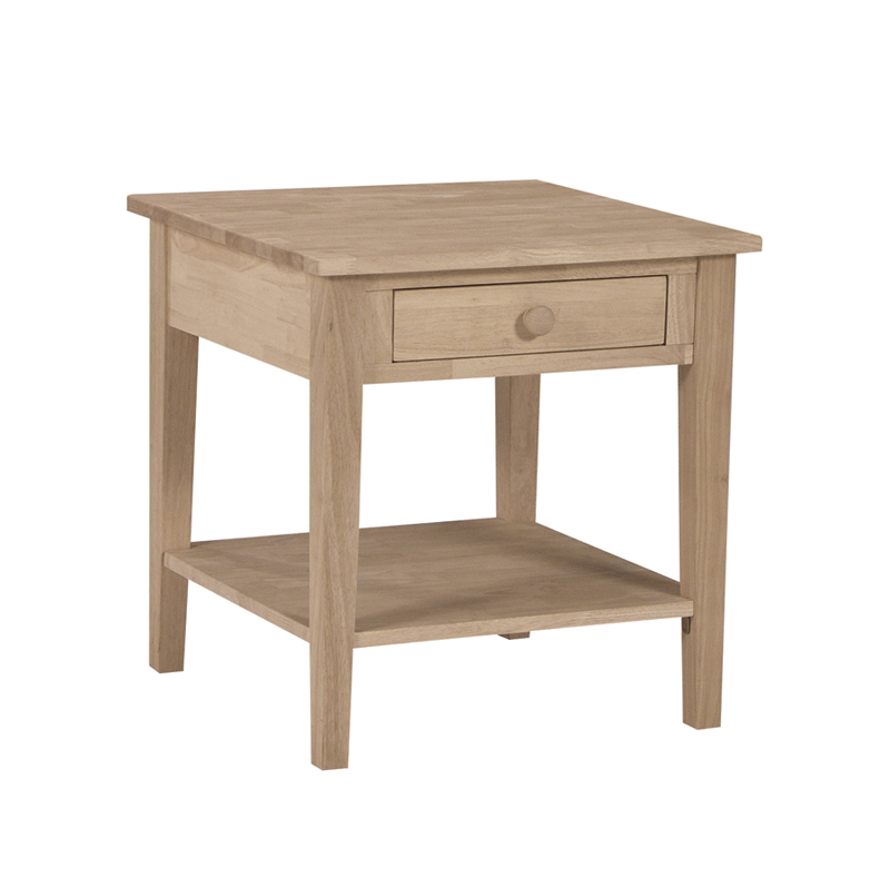 Spencer end table for Table th collapse