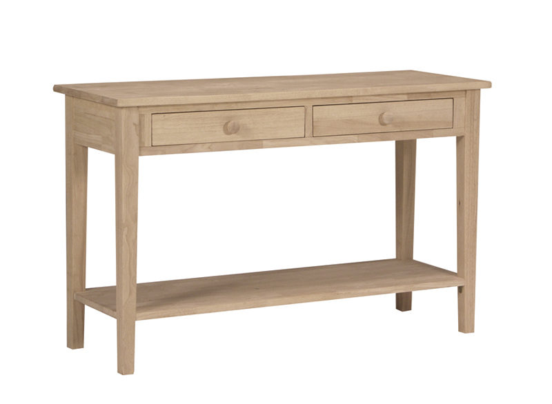48 spencer sofa table for 48 inch sofa table