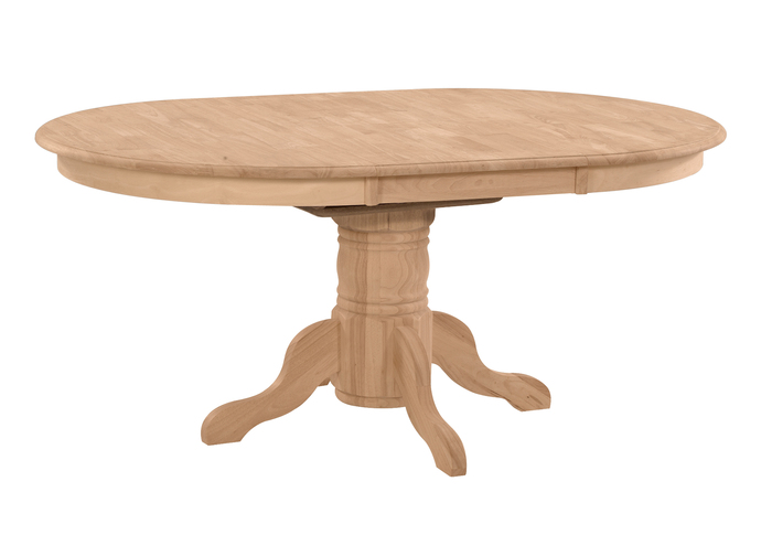 The Whitewood 42 Round Butterfly Leaf Dining Table