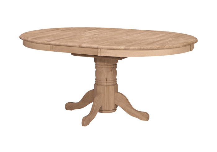 Erfly Leaf Dining Table, Round Dining Table With Extension Leaf