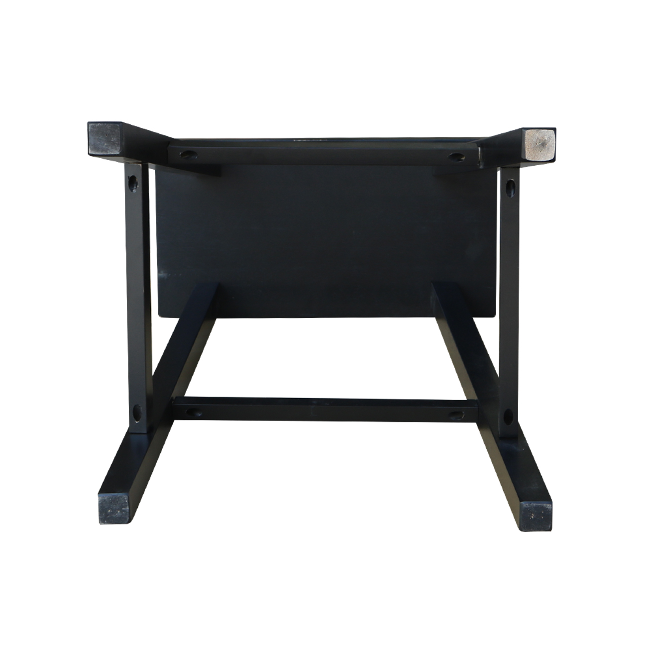Saddle Seat Stool Counter And Bar Height In Black Distressed