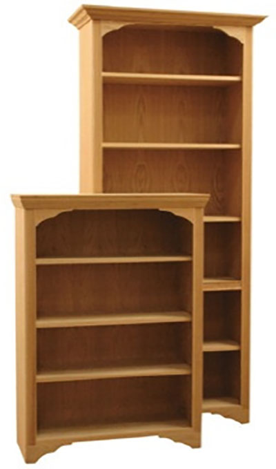 Fitr Regal Full Wrap Wood Bookcases
