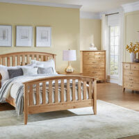 A America Alderbrook panel bed queen or king size