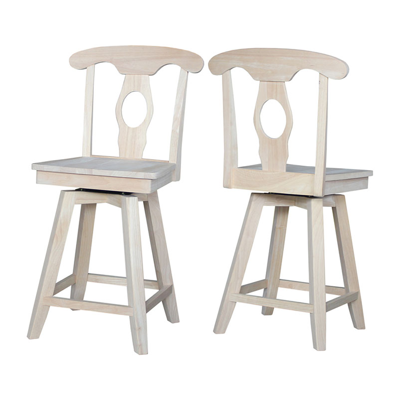 s-122SW-Front-and-Back Empire Stool