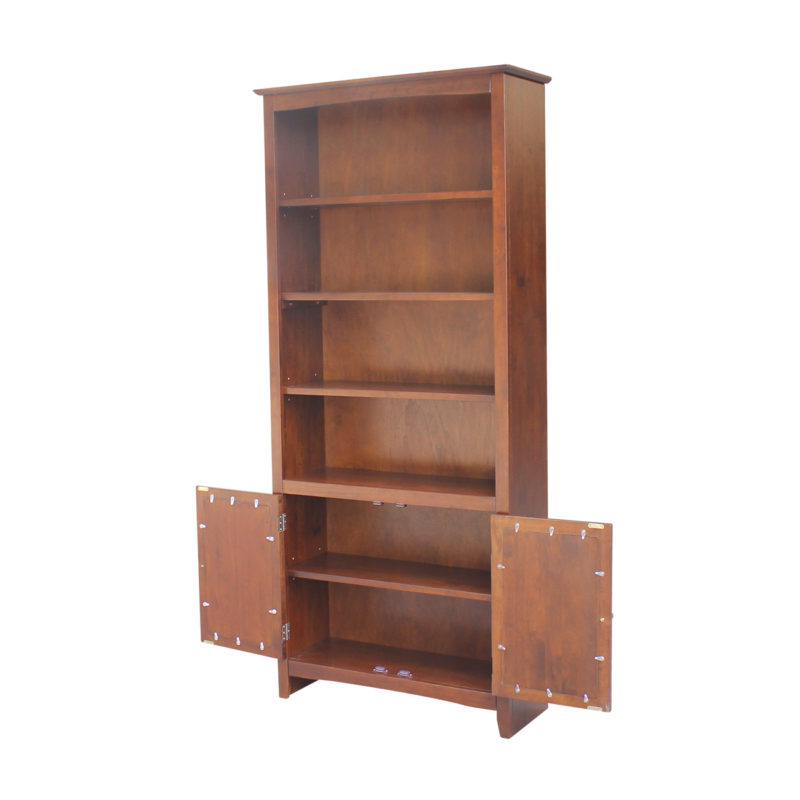 Add Doors To Your Shaker Bookcase