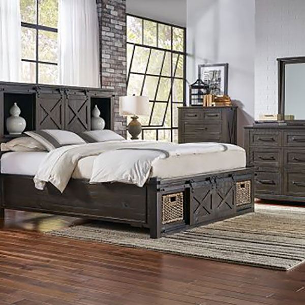 The A America Sun Valley Storage Bed Features Rotating Storage