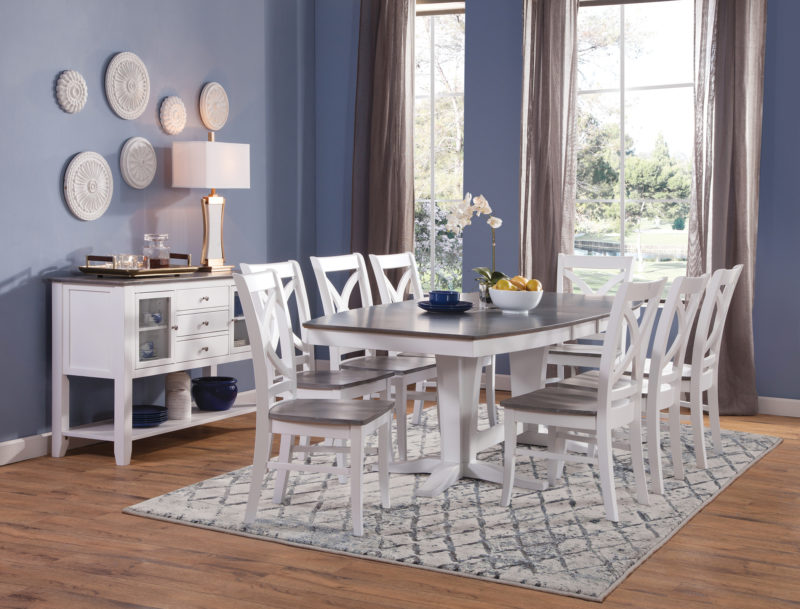 John Thomas Cosmopolitan Milano Dining Table Free Shipping