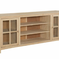 TV-34L Wide Franklin TV Cabinet Entertainment Center