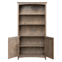 archbold 63672D Bookcase with Doors