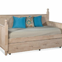 whitewood cottage daybed with trundle bd-203