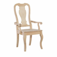 C-910AB Queen Anne Arm Chair