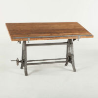 FIL-OD62 Home Trends and Design Industrial Loft Drafting Desk