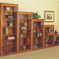 Trend Manor Solid Oak Bookcase