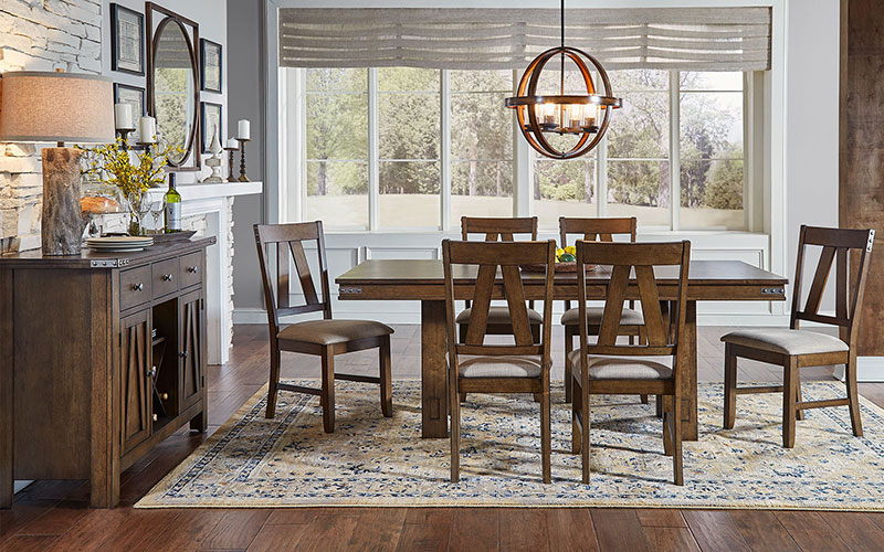 A America Eastwood Resources Trestle Table
