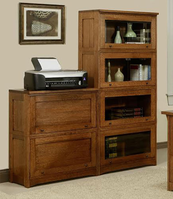 Trend Manor Mission Lawyers Bookcase Collection