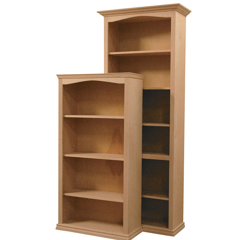Arch Traditional Texas Made Bookcase ACT-TRW