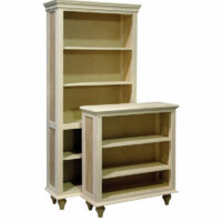 Cottage-CE Full Wrap Bookcase with Tulip Feet