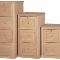 Traditional Trim File Cabinet by Furniture in the Raw
