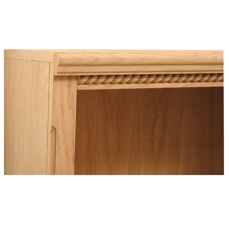 Heritage Rope Trim Bookcase By Furniture In The Raw Made