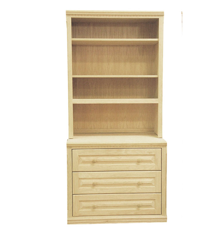 Step Back 3 Drawer Bookshelf