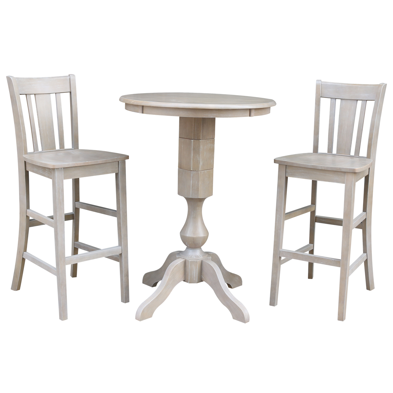 John Thomas Dining Essentials Old World Round Dining Table