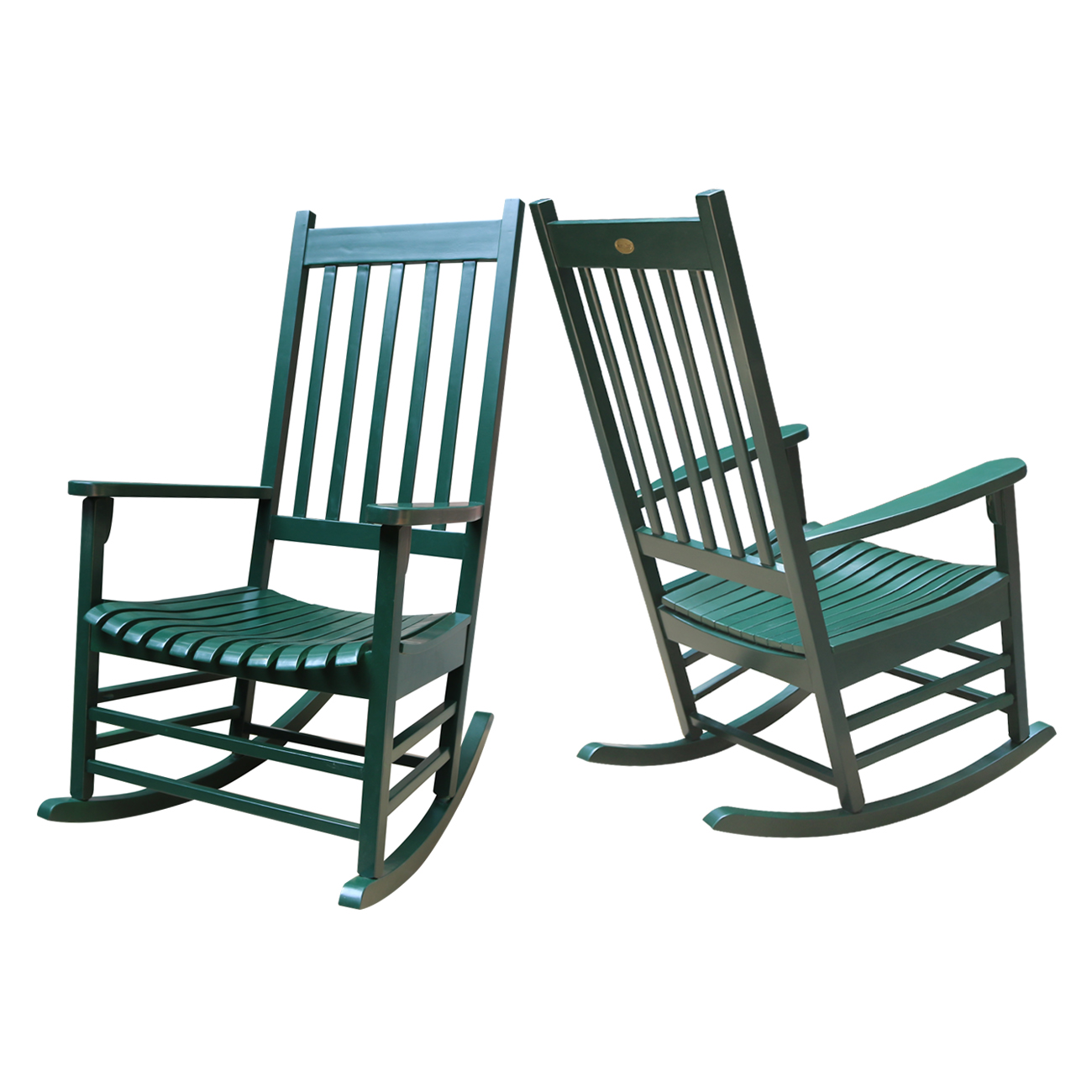 The Whitewood Acacia Finished Porch Rocker In Your Choice