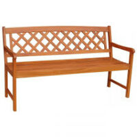 BE-53924 3 Seater X  Back Bench