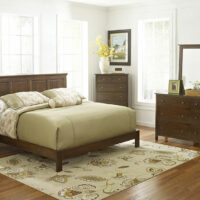 Archbold Bedroom in Solid Alder