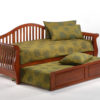 Nightfall Daybed Cherry w Trundle opened