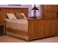 Trend Manor Panel Bed