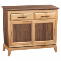 3525Duet Storage Console by Whittier Wood Products