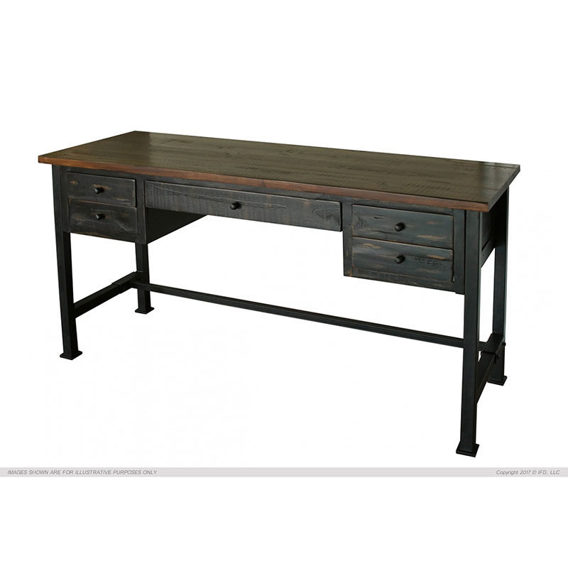 IFD370 Pueblo Black Desk