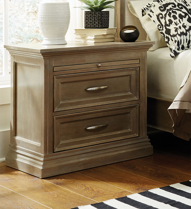 The Sonoma 2 Drawer Nightstand Is Solid Wood And Fully