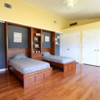 custom wallbed Murphy Bed with hutch